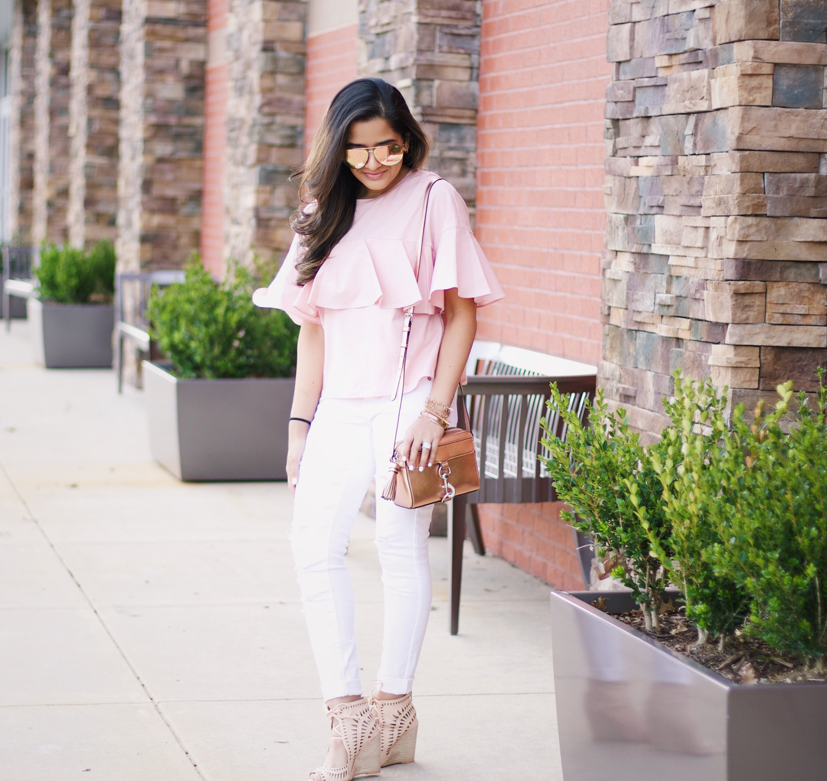 Spring Style with blush + white