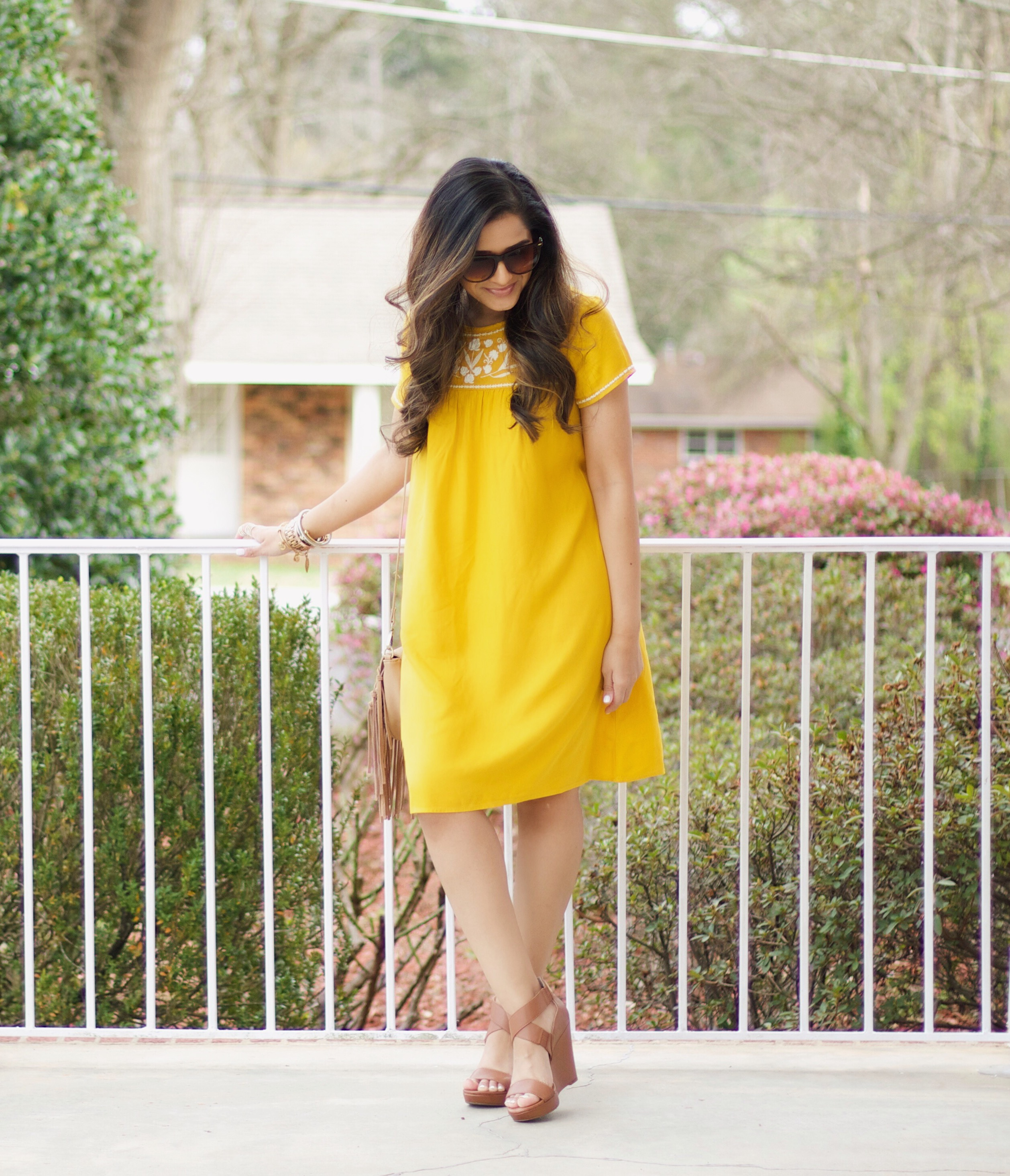 wearing bright colors for spring