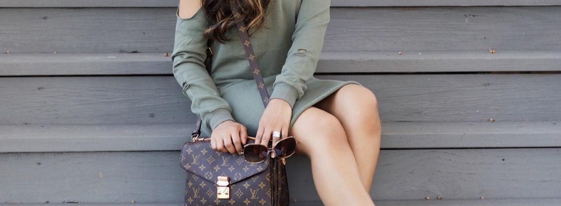 Sweatshirt Dress + Converses