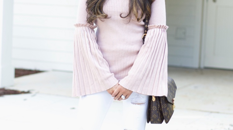 Bell Sleeve Sweater + Life Update
